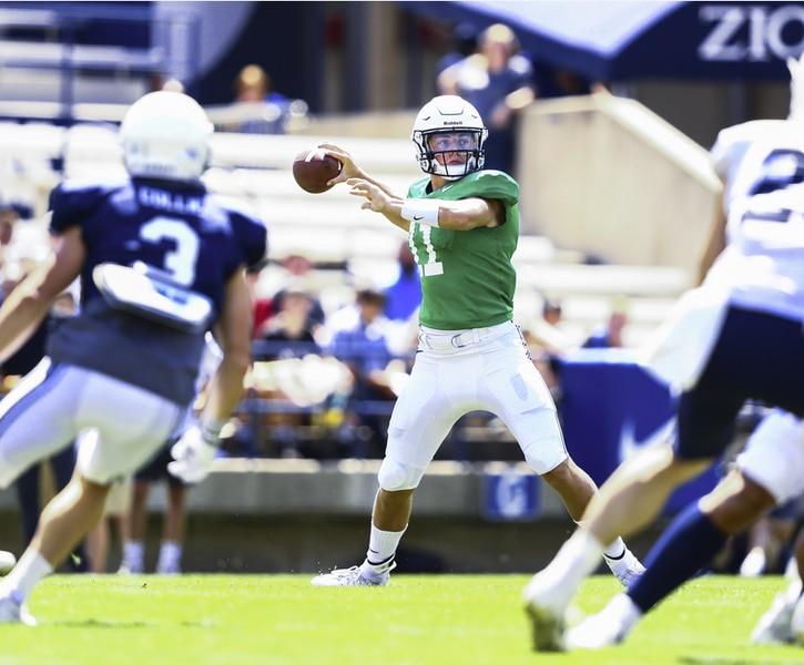 Defense bounces back in BYU scrimmage, but offense shines at times