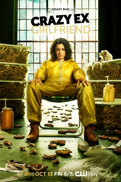 """(Courtesy of Frank Ockenfels 3/The CW) Rachel Bloom stars as Rebecca Bunch in """"Crazy Ex-Girlfriend,"""" which returns for Season 3 on Friday, Oct. 13, at 7 p.m. on The CW/Ch. 30."""