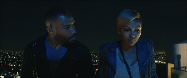 (Courtesy Sundance Institute) Omari Hardwick (left) and Meagan Good star in Qasim Basir's