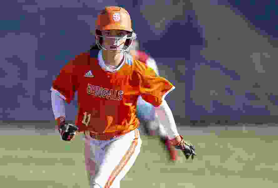 Idaho State University softball player Haley Harrison still fighting off the darkness