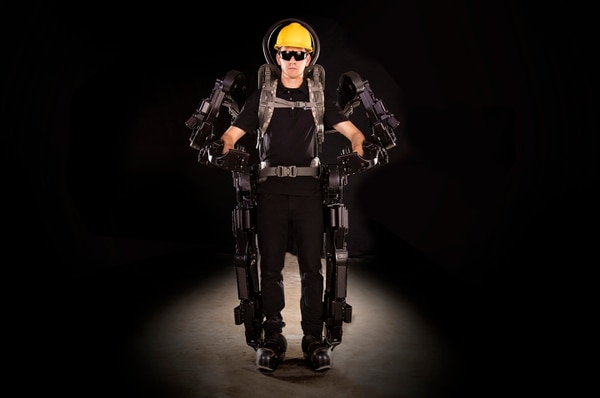 (Photo courtesy of Sarcos Robotics) Sarcos Robotics Guardian XO robots, available in 2019, are the only full-body, untethered,fully powered exoskeletons that metabolically enhance the productivity of the wearer, increasing both stamina and strength in applications where heavy objects get lifted, manipulated and transported. Sarcos Robotics develops and manufactures robotics, micro-systems and sensor technologies for use in public safety, security, disaster recovery, infrastructure inspection, aerospace, maritime, oil and gas, and mining.