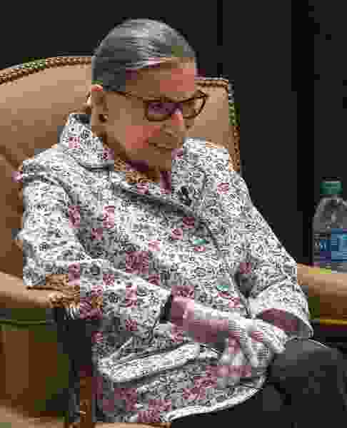 Justice Ruth Bader Ginsburg — aka the Notorious R.B.G. — tells Utah attorneys, 'Do something outside of yourself'