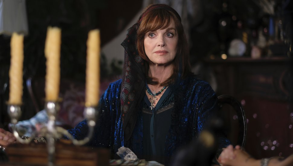 "(Photo courtesy Robert Falconer | The CW) Pamela Sue Martin guest stars as Harriet in the first episode of ""Nancy Drew."""