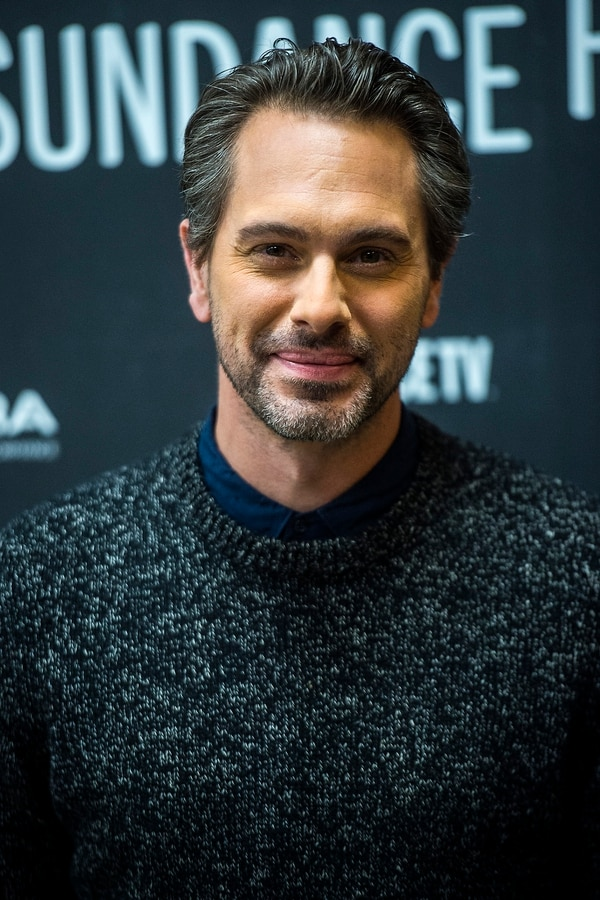 Chris Detrick | The Salt Lake Tribune Thomas Sadoski poses for photographs before the premiere of 'The Last Word' at the Eccles Theater during the 2017 Sundance Film Festival in Park City Tuesday January 24, 2017.