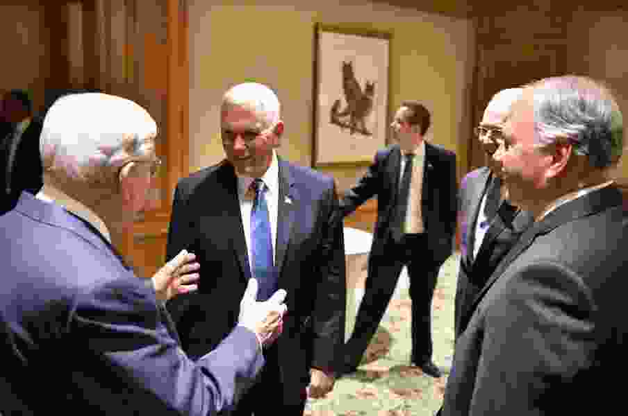 We want to be able to send our missionaries anywhere, LDS apostle says after meeting with Vice President Mike Pence