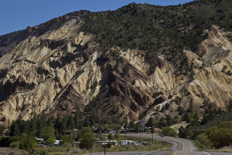 (James Cowlin) A photo of Marysvale Canyon. According to a new analysis from the Utah Women and Leadership Project, the town of Marysvale had the highest percentage of women in leadership positions (83.3%) among Utah's 247 cities and towns.