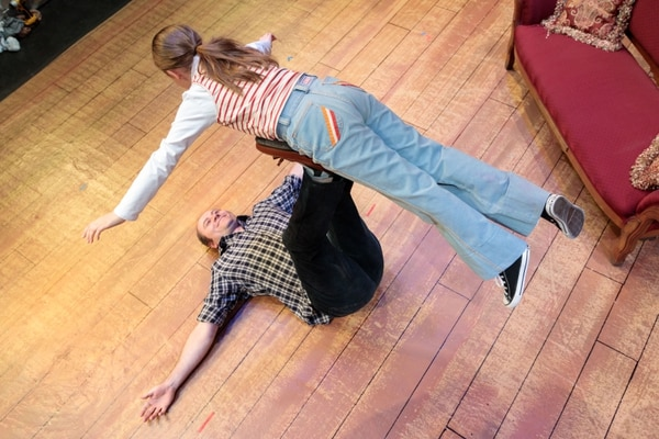 (Courtesy photography by dav.d daniels of dav.d photography) | Benjamin Henderson and Natalia Bingham in rehearsal for