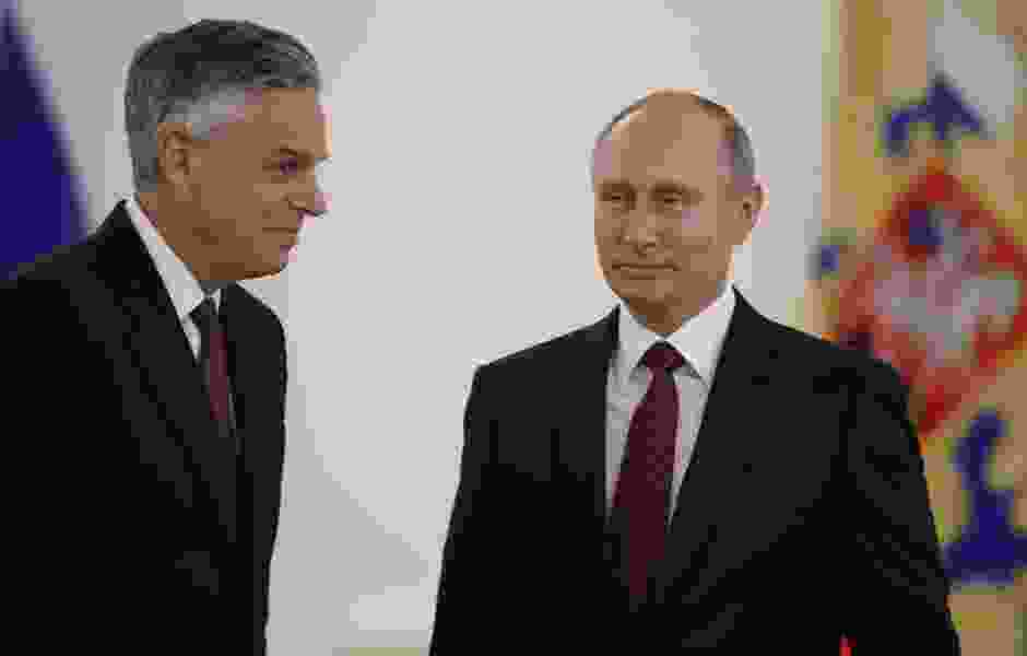 Ambassador Huntsman's first week a whirlwind with Putin, Trump meetings