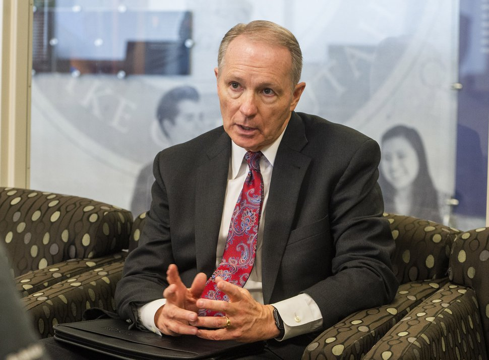 (Rick Egan | The Salt Lake Tribune) Bruce C. Kusch, president of LDS Business College, talks about Ensign College, which will become the new name of the college in September, Tuesday, Feb. 25, 2020.