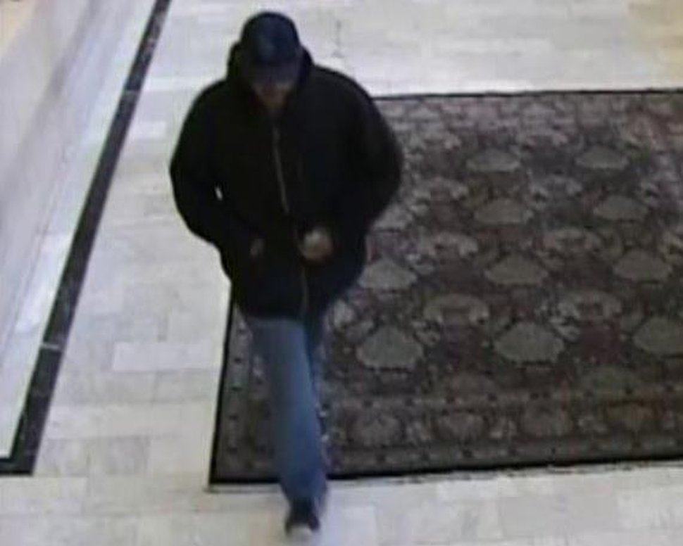 (Photo courtesy FBI) The FBI has released this bank surveillance photo of a man, dubbed