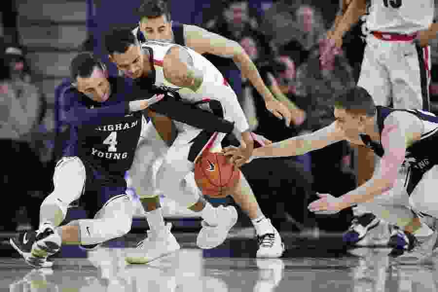 BYU keeps it close for 30 minutes before falling 102-68 at No. 2 Gonzaga