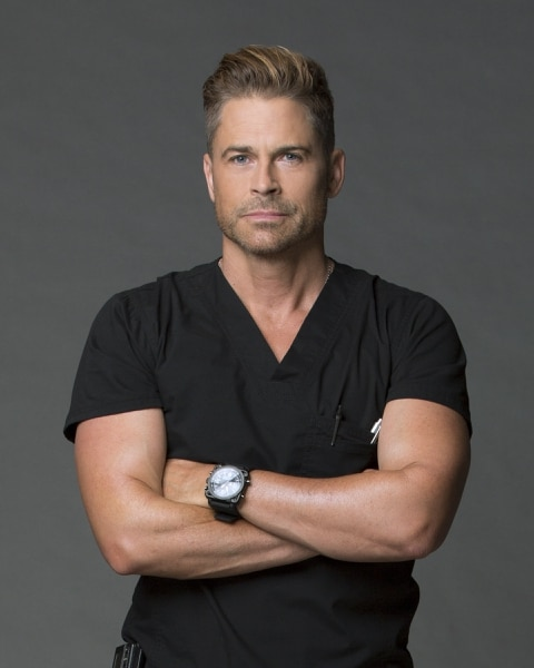 "(Monty Brinton/CBS) Rob Lowe stars as Col. Ethan Willis in ""Code Black."""