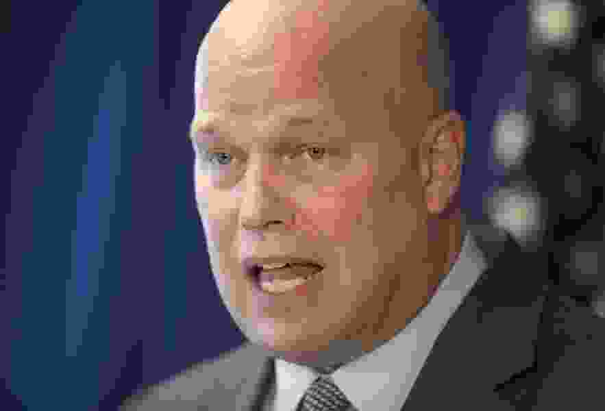 Dana Milbank: Matthew Whitaker's five minutes are up