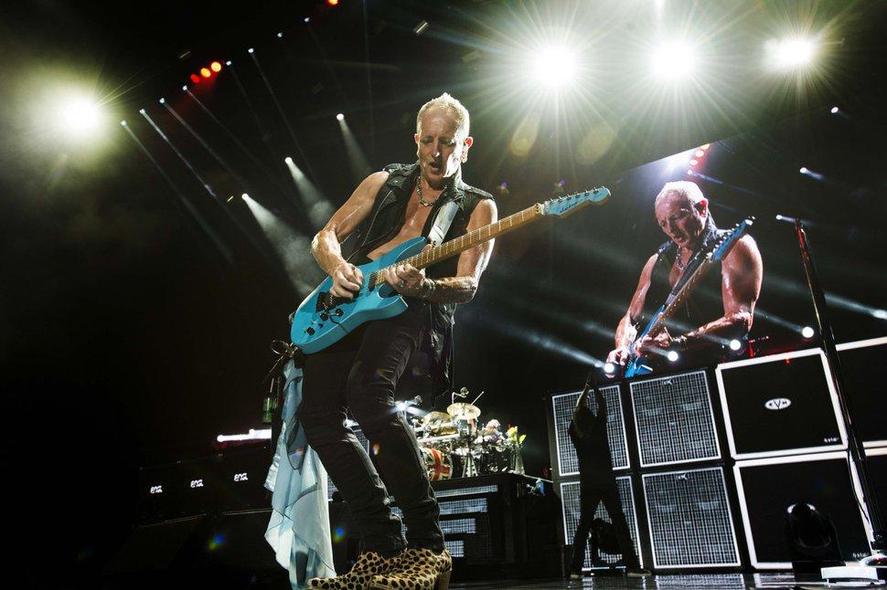 Rick Egan | Tribune file photo Def Leppard guitarist Phil Collen