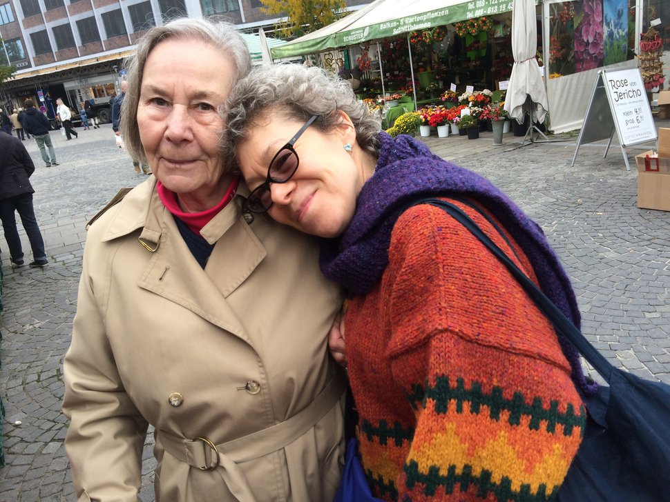 (Photo courtesy Natasha Sajé) Hiltrud Saje, left, and her daughter Natasha Sajé stand together in Munich, Germany, in October 2015. The mother died May 8, 2020, from COVID-19. She contracted the virus at the Ridge Foothill in Salt Lake City, according to her daughter.