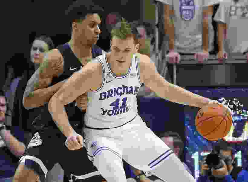 Senior forward Luke Worthington lost his spot in BYU's starting lineup, but not his desire to help the Cougars win