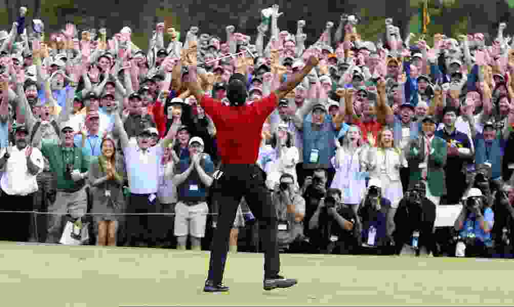 Tiger Woods makes the Masters his 15th and most improbable major; Utah's Tony Finau finishes tied for fifth