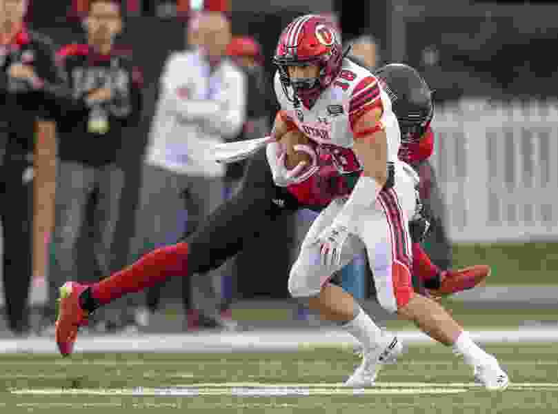 'He's a tough kid.' Britain Covey earns the ultimate Kyle Whittingham compliment as he rehabs from knee injury and previously undisclosed broken wrist.