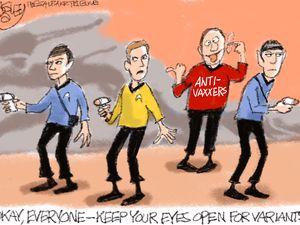 Red Shirts   Pat Bagley