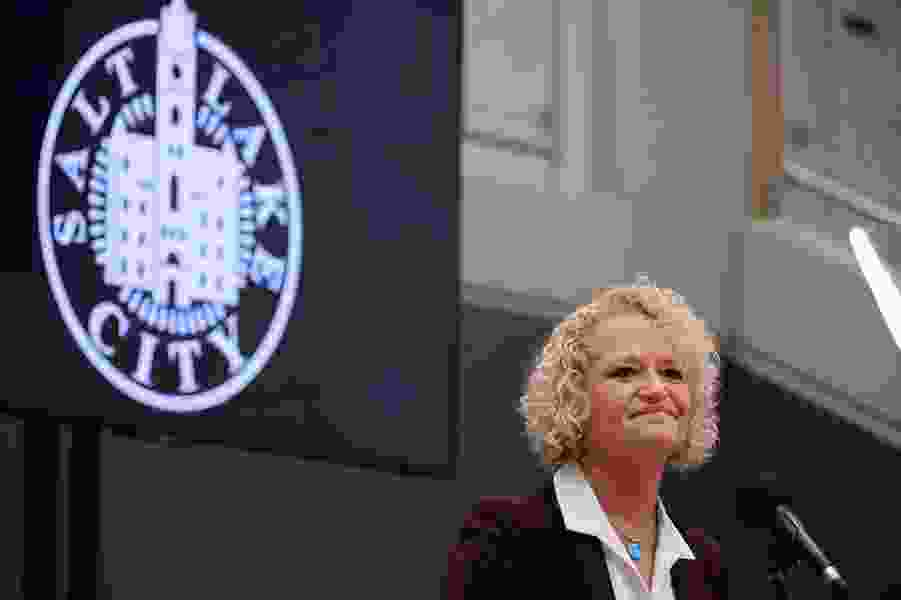 Salt Lake City Mayor Jackie Biskupski issues her first budget veto in a fight with the City Council over how to spend on affordable housing