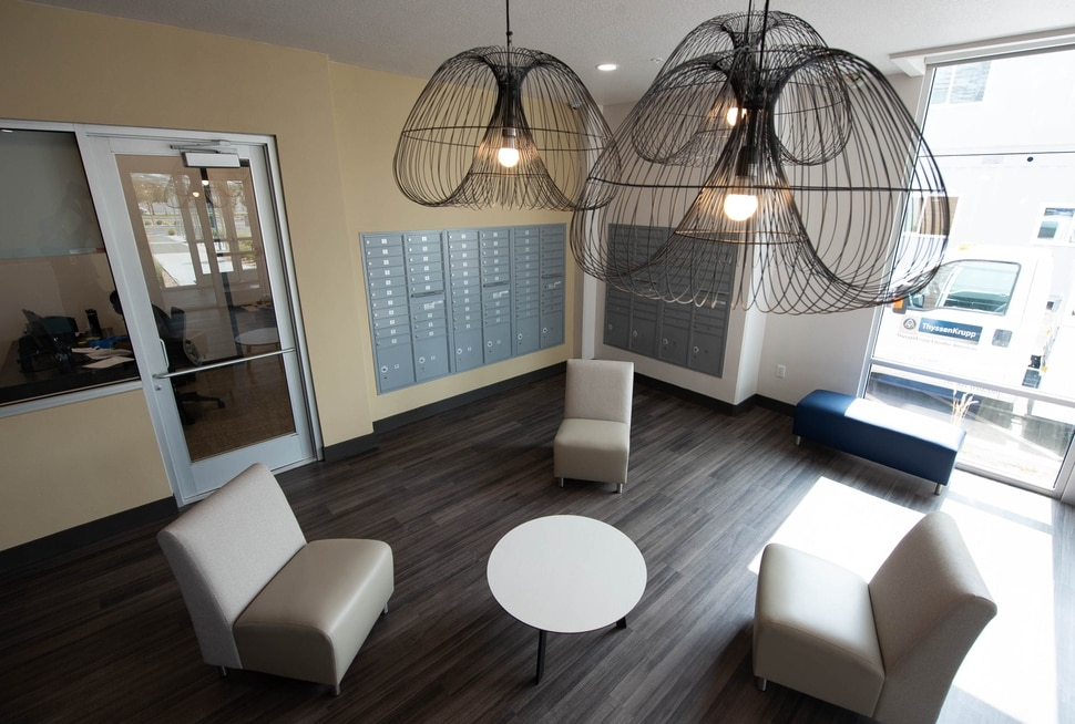 (Francisco Kjolseth | The Salt Lake Tribune) Pamela's Place honoring its namesake, Pamela Atkinson, opens with 100-units of supportive housing for disabled and the chronically homeless, which includes a 24-hour health clinic, food pantry and other amenities at 525 S. 500 West in Salt Lake City.