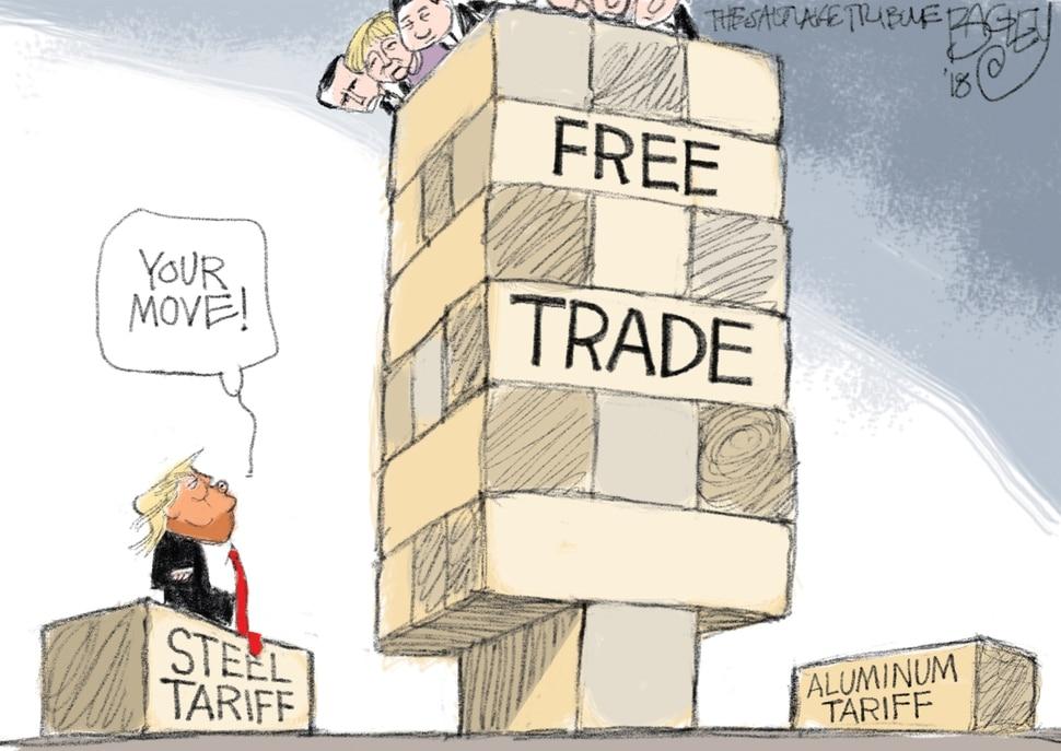 (Pat Bagley | The Salt Lake Tribune) This Pat Bagley cartoon appears in the March 9, 2018, Salt Lake Tribune.