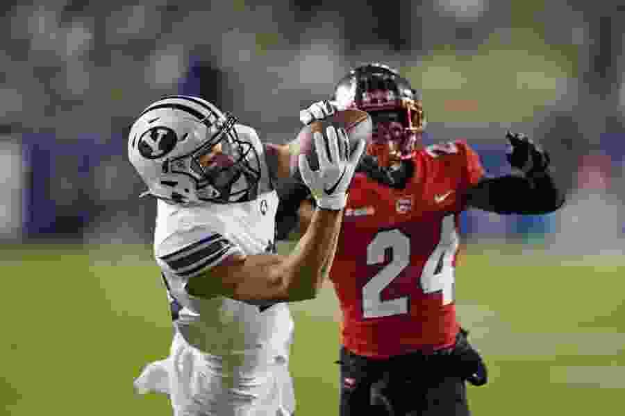 No. 11 BYU improves to 7-0 with 41-10 rout of Western Kentucky