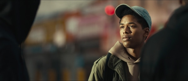 (David Devlin | courtesy Sundance Institute) Kelvin Harrison Jr. plays an honors student accused of a crime in
