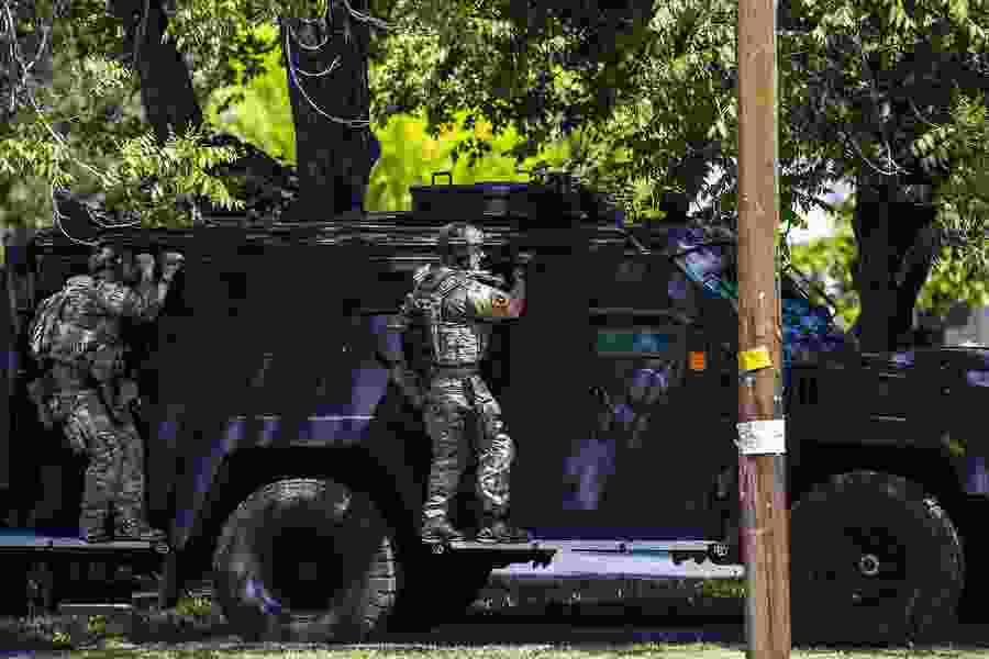 Letter: We should be concerned about where police get their war gear