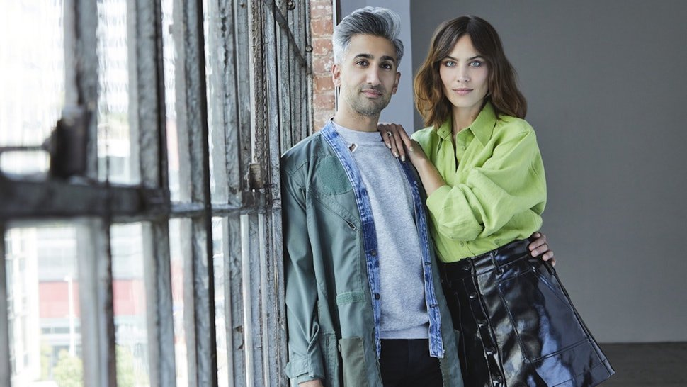 (Photo courtesy of Adam Rose/Netflix) Tan France and Alexa Chung were the hosts of