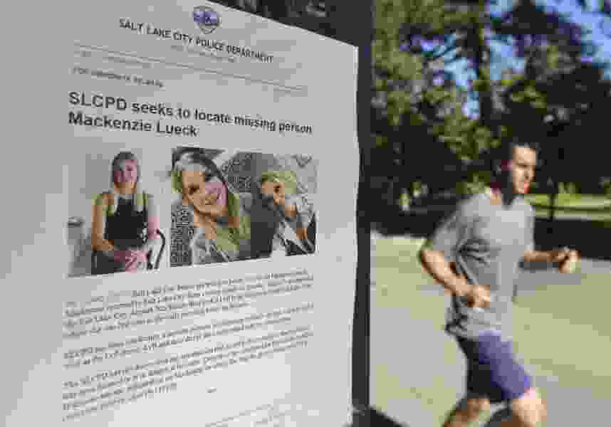 Missing Utah college student met person at park