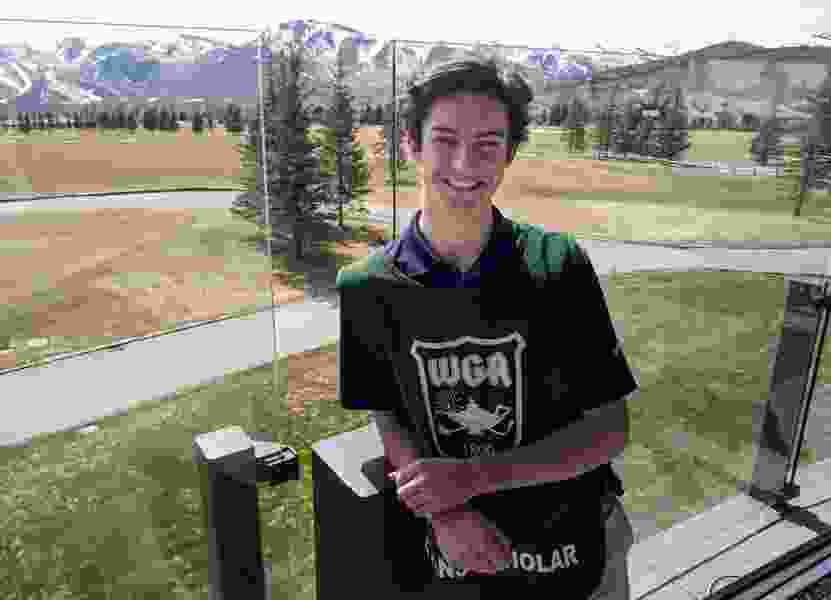 Being the bag man pays off with college scholarship for Park City senior