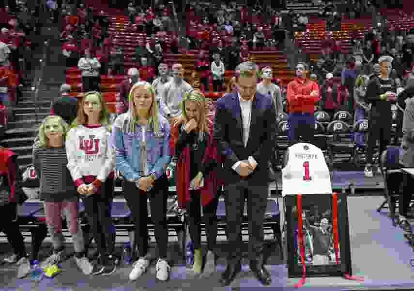 Utes honor Jon M. Huntsman before game against Stanford