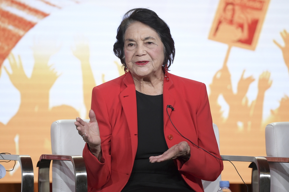 Film coming to PBS examines Dolores Huerta from jazz to 'Sí