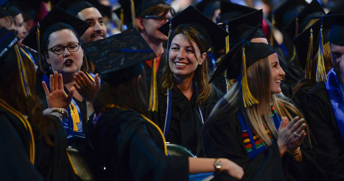 SLCC is holding its graduation ceremony inside, and it can't enforce COVID precautions