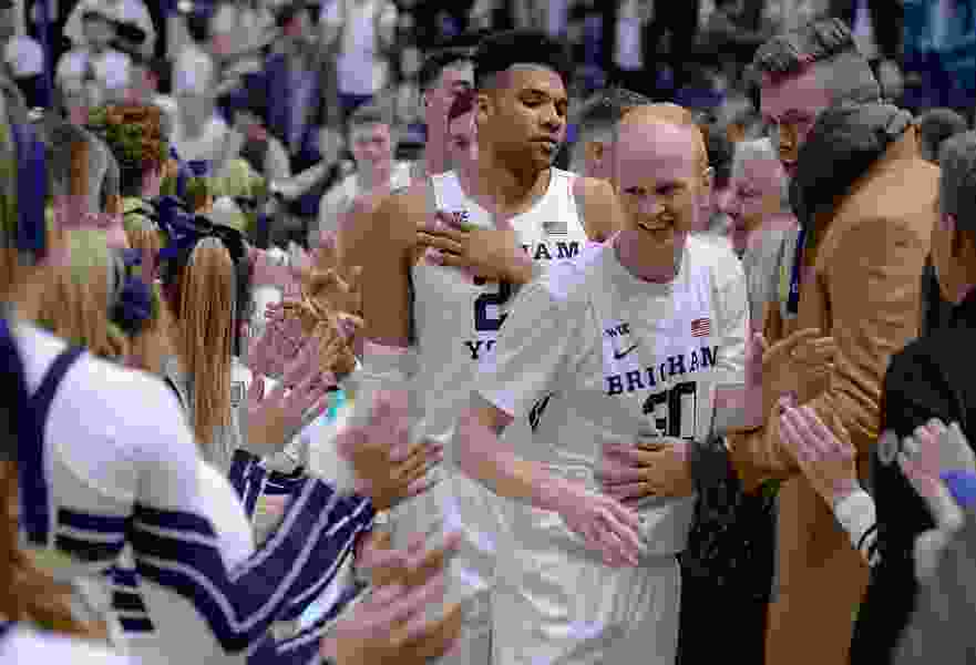 BYU's trip to the Big Dance got cut short, but Mark Pope says neither he nor Cougar fans will ever forget this team