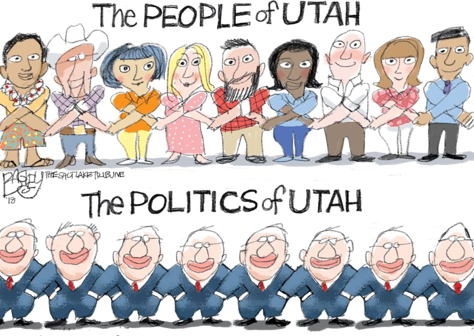 This Pat Bagley cartoon appears in The Salt Lake Tribune on Wednesday, June 6, 2018.