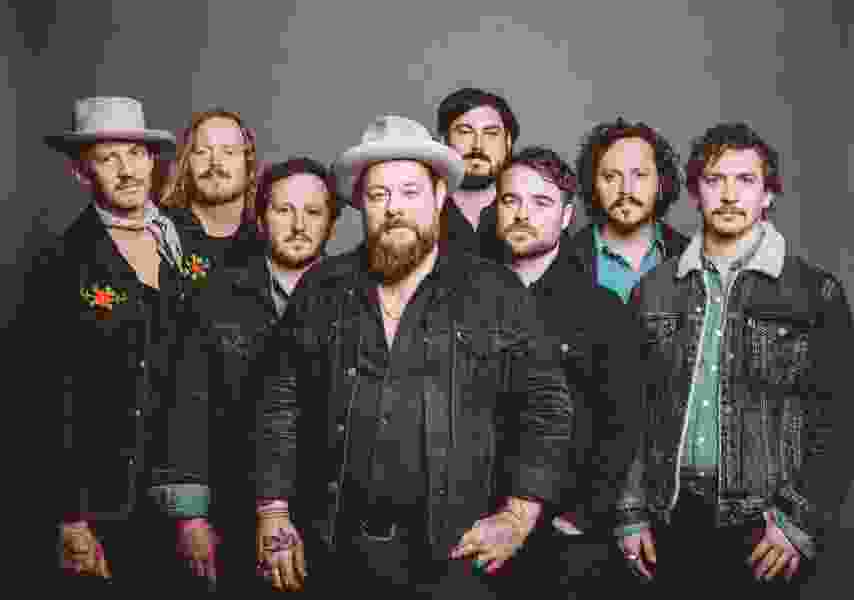 Nathaniel Rateliff cooled off, then heated up a packed Red Butte crowd