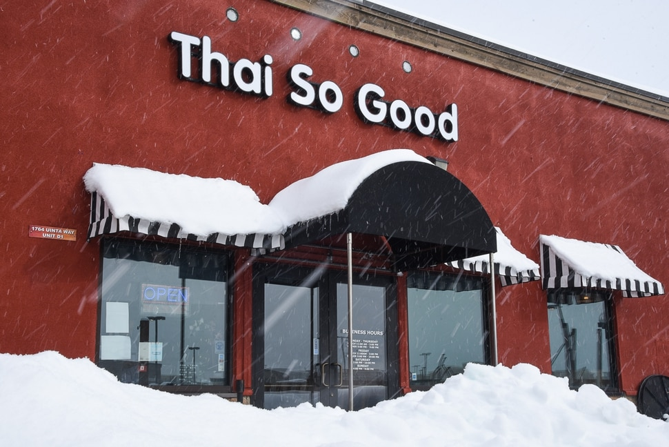 (Francisco Kjolseth | The Salt Lake Tribune) Thai So Good, a new restaurant in Park City at 1764 Uinta Way, Unit D-1, at Kimball Junction is a place people can try before (or after) the Sundance Film Festival.
