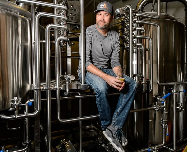(Trent Nelson | Tribune file photo) Ryan Miller, owner of SaltFire Brewing Co., in South Salt Lake.