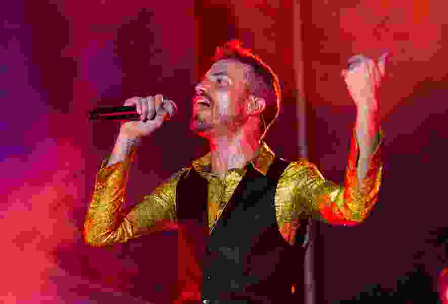 Utah singer Tyler Glenn of Neon Trees fame taking his boots to Broadway