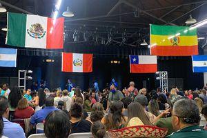 (Shane Burke | The Salt Lake Tribune) People attend a festival for Hispanic Heritage Month in Ogden, Saturday, Sept. 25, 2021.
