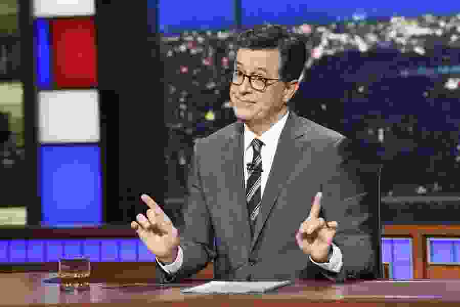Colbert's explanation of God starts with a story about broccoli