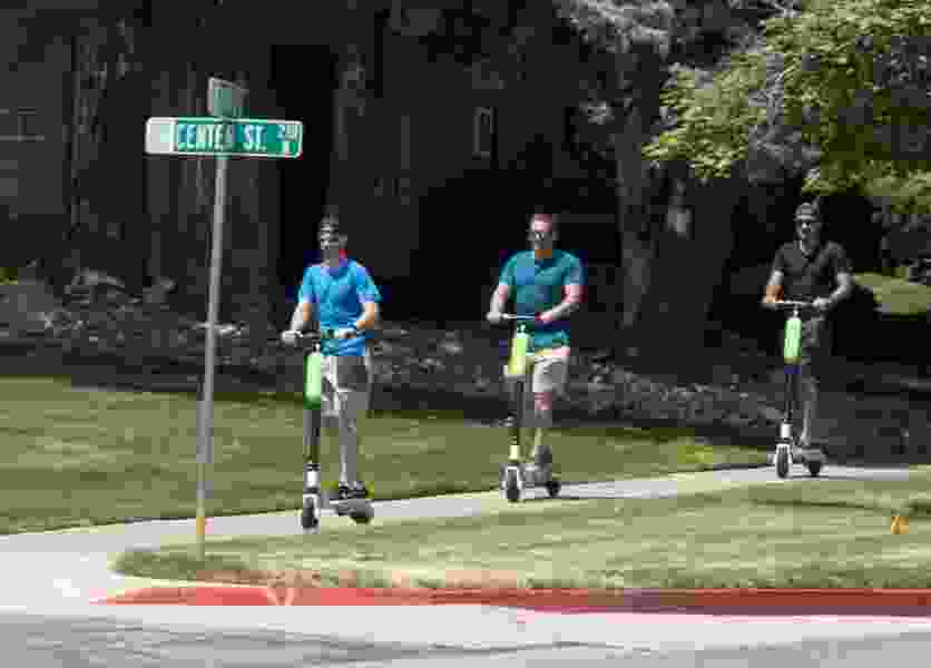 Letter: Get e-scooters off Utah sidewalks and onto the playgrounds where they belong