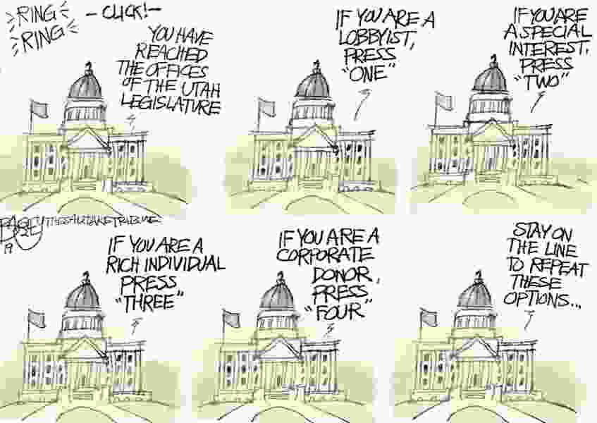 Bagley Cartoon: Putting the People on Hold