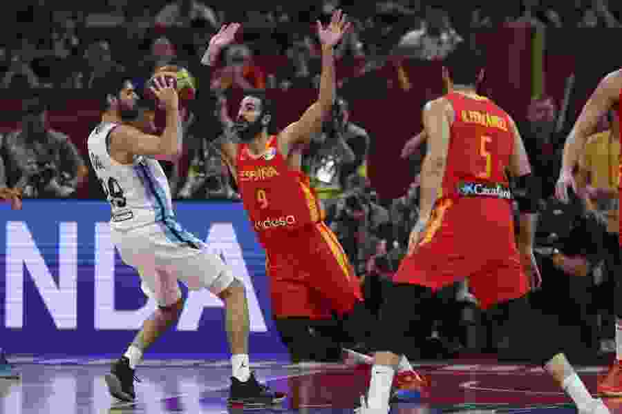 Former Jazzman Ricky Rubio leads way with 20 points as Spain beats Argentina to win the World Cup