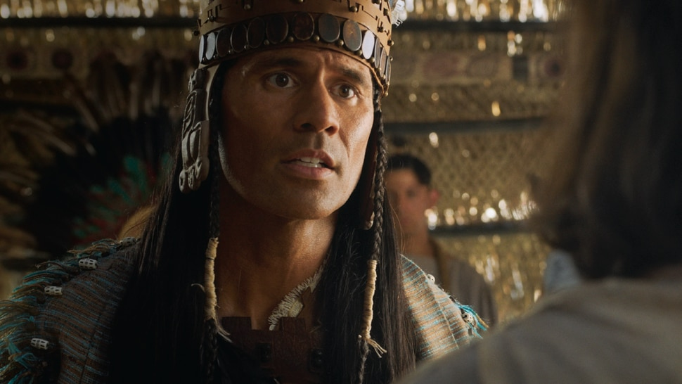 (Photo courtesy of The Church of Jesus Christ of Latter-day Saints) Ammon serves and teaches King Lamoni in a new Book of Mormon video.