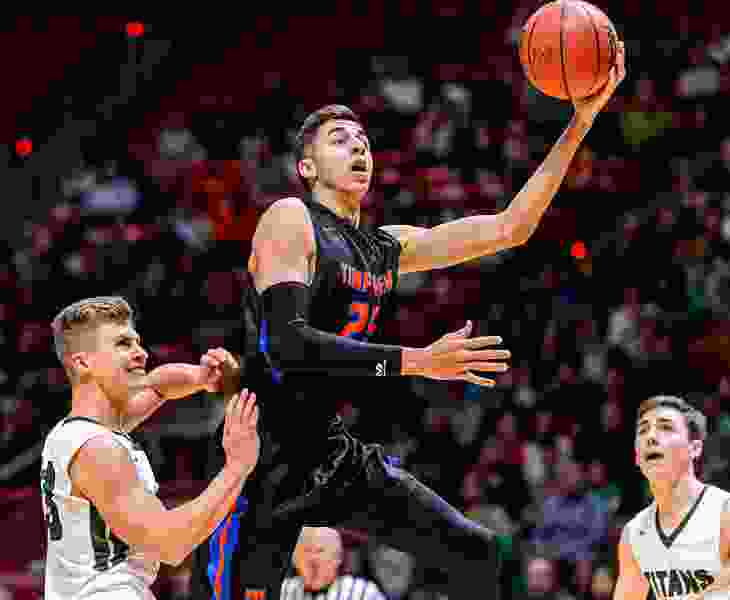 Freshman Gavin Baxter brings some much-needed height, athleticism to BYU men's basketball
