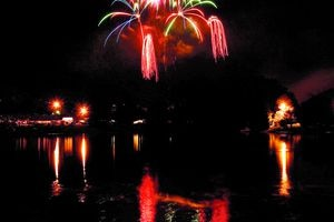 ( Trent Nelson  |  Tribune file photo ) Fireworks ring in Independence Day in Salt Lake City's Sugar House Park in 2010.