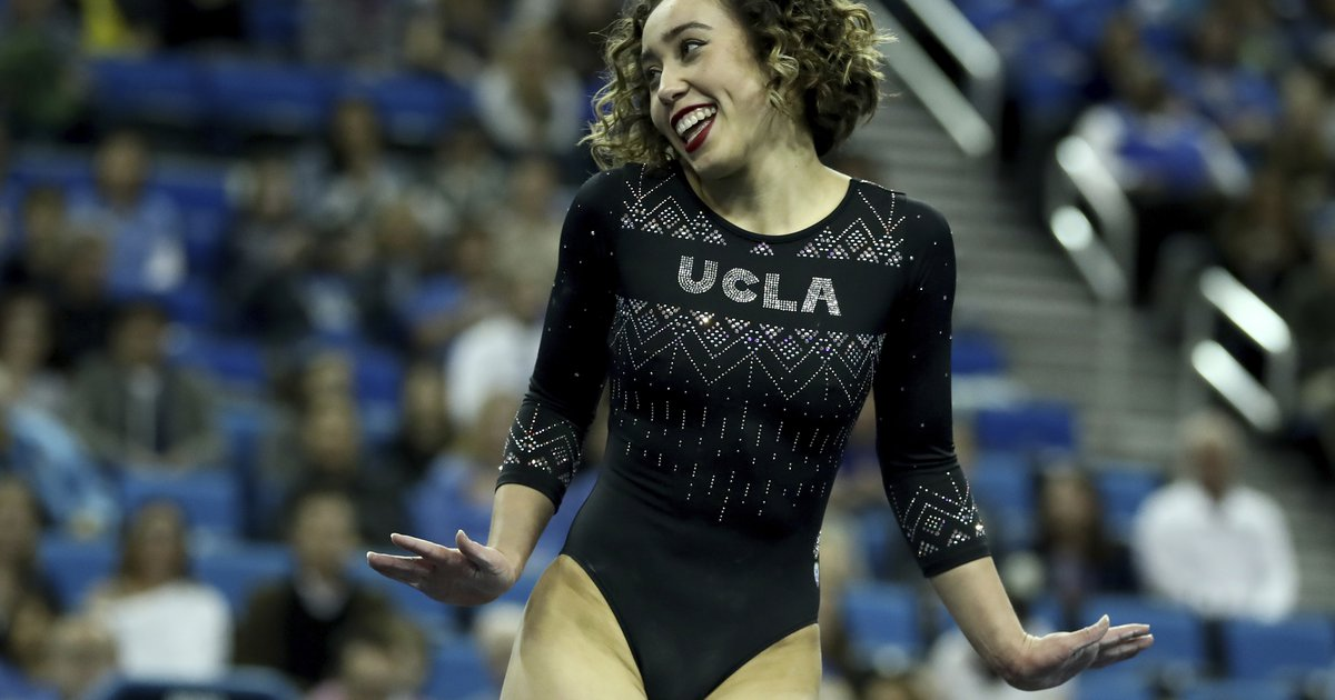 A 10 Isn T Enough Ucla Gymnast S Flawless Floor Routine
